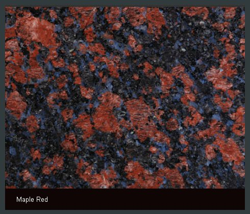 Maple Red Indian Granite