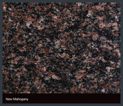 New Mahogany Indian Granite