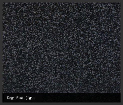 Regal Black (Light) Indian Granite
