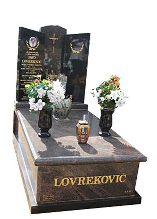 Springvale Paradiso and Royal Black Full Monument Loverekovic Cemetery Memorial