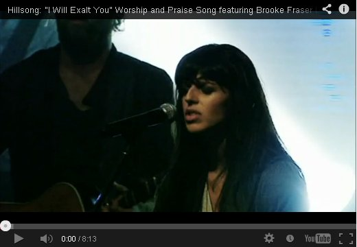 I will Exalt You by Hillsong on YouTube